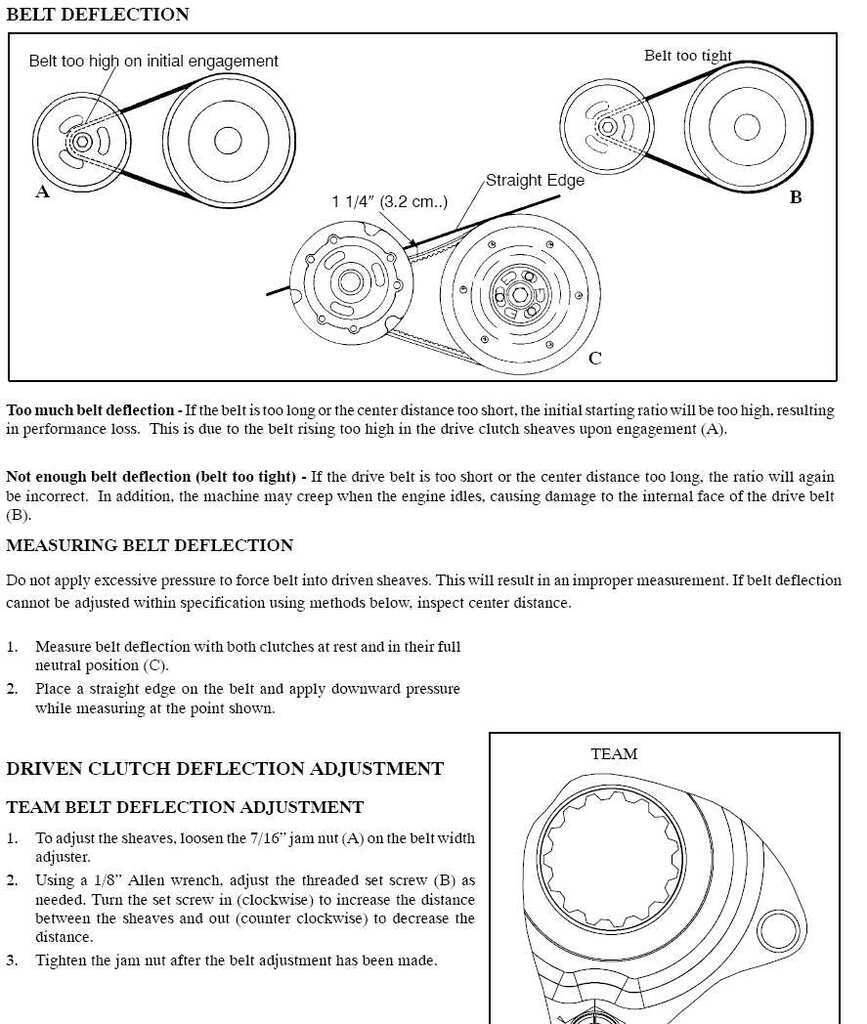 how to adjust belt tension? - HCS Snowmobile Forums