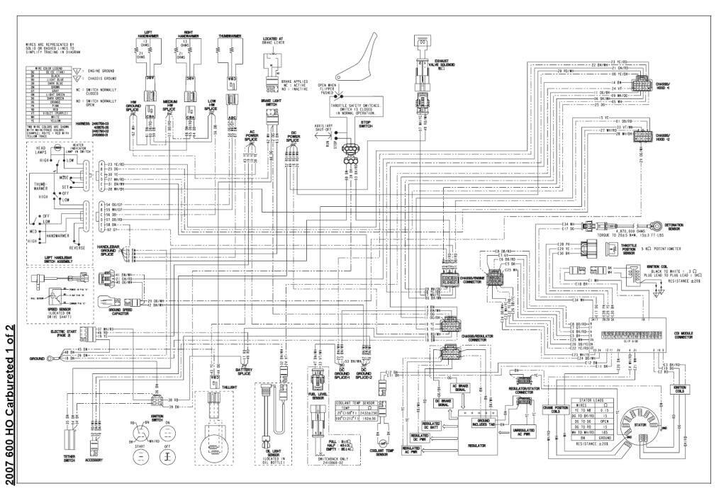 07 Iq 600 Ho Electrical Issues