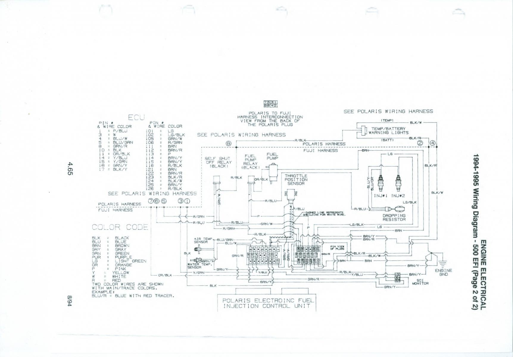 95 Polaris Indy 500 Efi Wiring Diagram