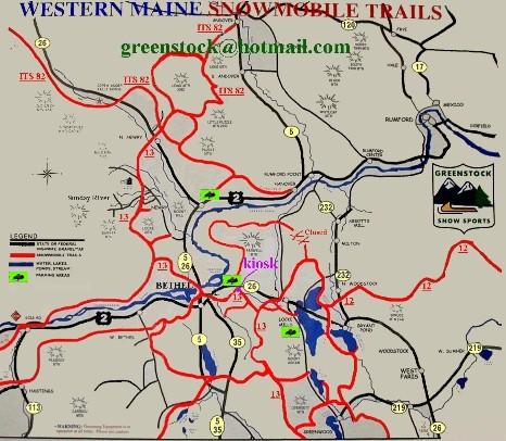 Bethel Me Area Trails Map Hcs Snowmobile Forums