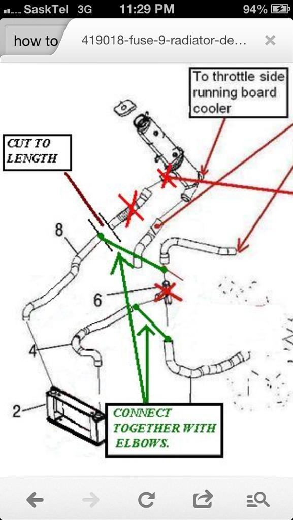 Radiator Removal Or Re-plumb