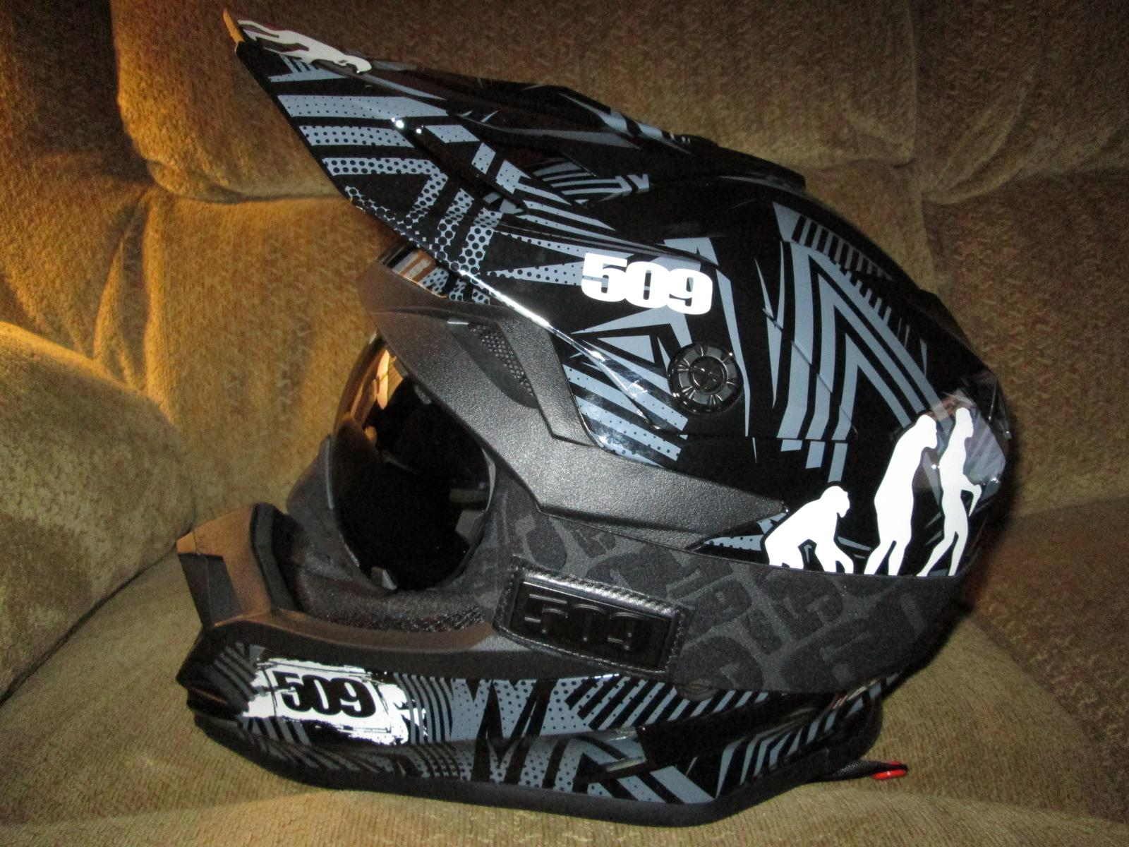 4x Snowmobile Helmet