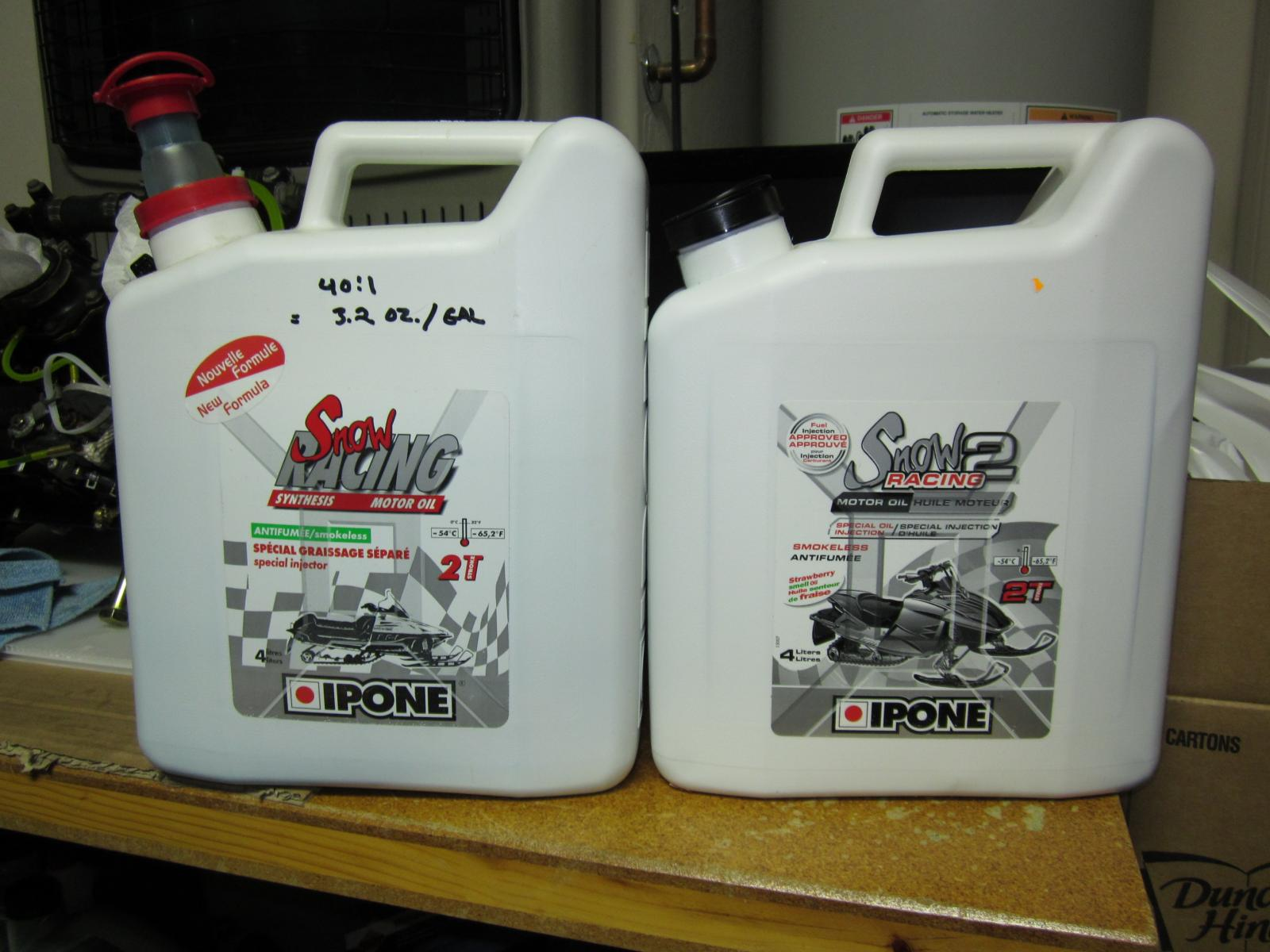 Ipone Oil Confusion - HCS Snowmobile Forums