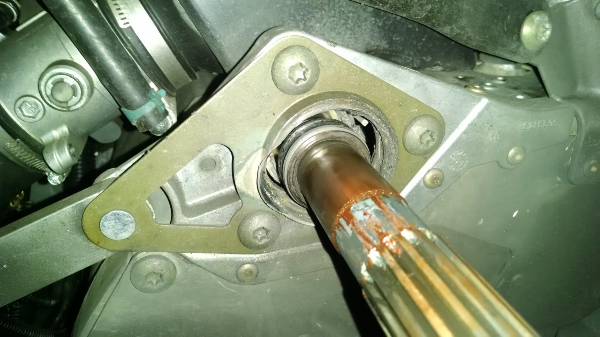 Jack shaft bearing failure  - HCS Snowmobile Forums