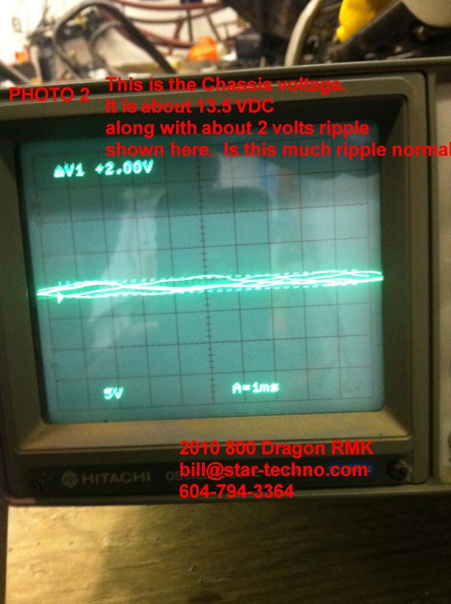 2010 Polaris Dragon 800 info please- I will paypal you $20 - HCS
