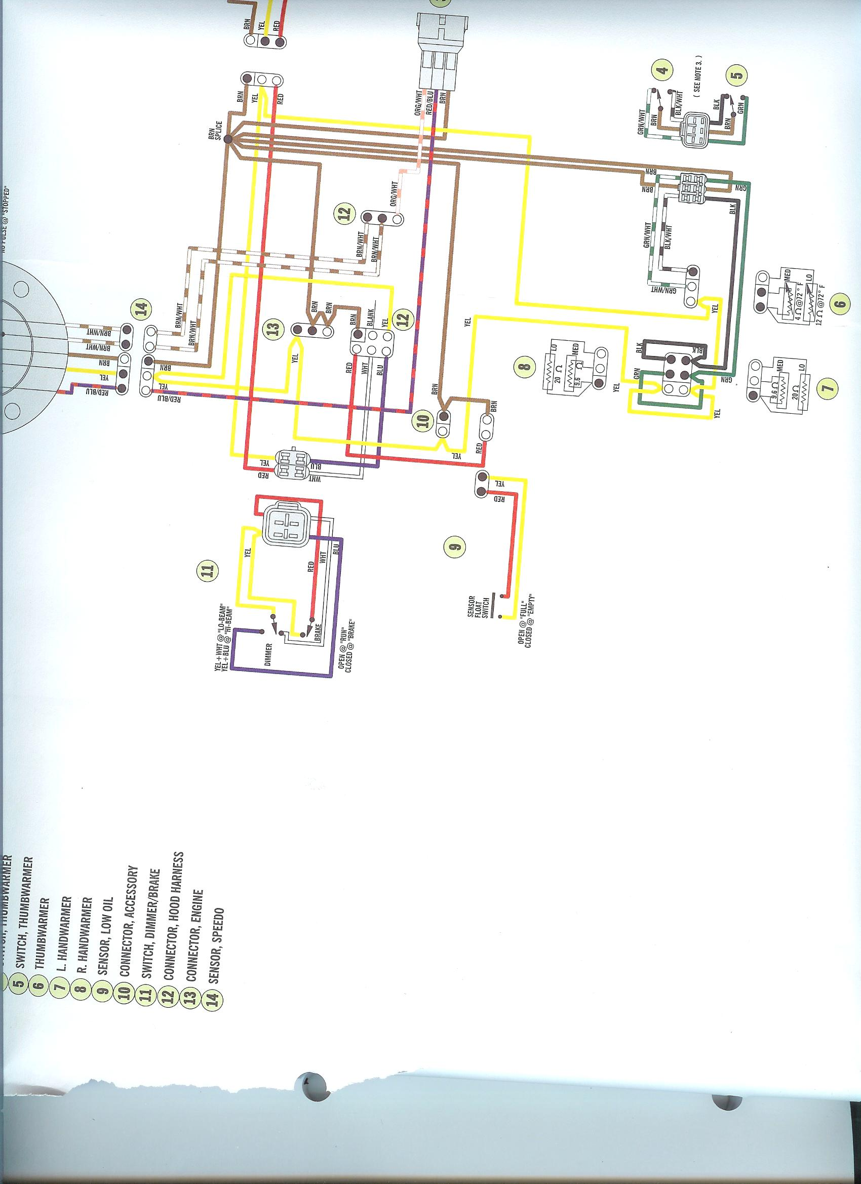 Hand Warmer Wiring Diagram Arctic Cat Snowmobile - Wiring ... on